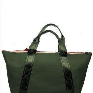 f774884d9d Hunter Bags - Hunter x Target Olive Green Oversized Tote Bag